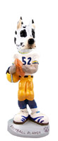 Great Dane Harlequin Football Player Doogie Collectable Figurine