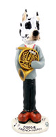 Great Dane Harlequin French Horn Doogie Collectable Figurine