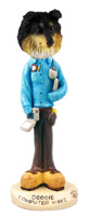 Sheltie Tricolor Computer Whiz Doogie Collectable Figurine