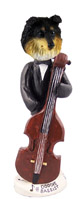 Sheltie Tricolor Bassist Doogie Collectable Figurine