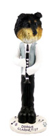 Sheltie Tricolor Clarinetist Doogie Collectable Figurine