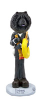 Chow Black Sailor Doogie Collectable Figurine