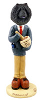 Chow Black Pharmacist Doogie Collectable Figurine