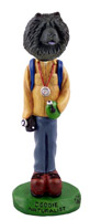 Chow Black Naturalist Doogie Collectable Figurine