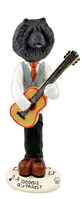 Chow Black Guitarist Doogie Collectable Figurine