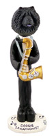 Chow Black Saxophonist Doogie Collectable Figurine