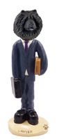 Chow Black Lawyer Doogie Collectable Figurine