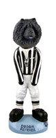 Chow Black Referee Doogie Collectable Figurine