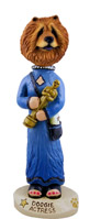 Chow Red Actress Doogie Collectable Figurine