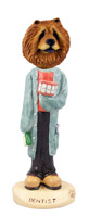 Chow Red Dentist Doogie Collectable Figurine