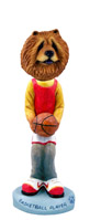 Chow Red Basketball Doogie Collectable Figurine