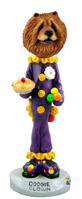 Chow Red Clown Doogie Collectable Figurine