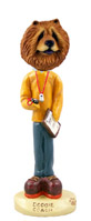 Chow Red Coach Doogie Collectable Figurine