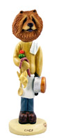 Chow Red Chef Doogie Collectable Figurine