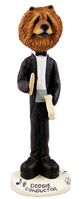 Chow Red Conductor Doogie Collectable Figurine