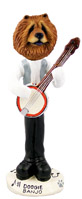 Chow Red Banjo Doogie Collectable Figurine