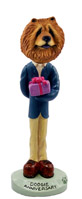 Chow Red Anniversary Doogie Collectable Figurine