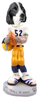 Springer Spaniel Liver Football Player Doogie Collectable Figurine