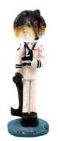 Collie Tricolor U.S. Navy Doogie Collectable Figurine