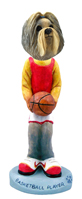 Shih Tzu Mixed Color Basketball Doogie Collectable Figurine