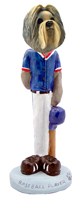 Shih Tzu Mixed Color Baseball Doogie Collectable Figurine