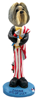 Shih Tzu Mixed Color 4th of July Doogie Collectable Figurine