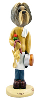 Shih Tzu Mixed Color Chef Doogie Collectable Figurine