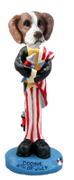 Brittany Brown & White 4th of July Doogie Collectable Figurine