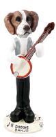 Brittany Brown & White Banjo Doogie Collectable Figurine