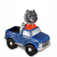 Keeshond Pickup Doogie Collectable Figurine