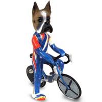 Boxer Bicycle Doogie Collectable Figurine