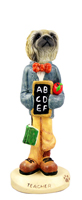 Pekingese Teacher Doogie Collectable Figurine