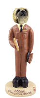 Pekingese Commercial Driver Doogie Collectable Figurine