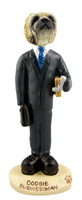 Pekingese Businessman Doogie Collectable Figurine