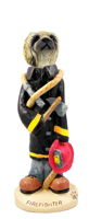 Pekingese Fireman Doogie Collectable Figurine