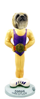Pekingese Wrestler Doogie Collectable Figurine