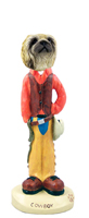 Pekingese Cowboy Doogie Collectable Figurine