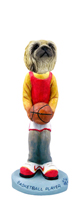 Pekingese Basketball Doogie Collectable Figurine