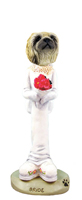 Pekingese Bride Doogie Collectable Figurine