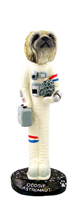 Pekingese Astronaut Doogie Collectable Figurine