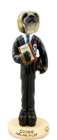 Pekingese Airline Pilot Doogie Collectable Figurine