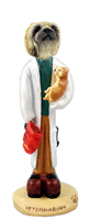 Pekingese Veterinarian Doogie Collectable Figurine