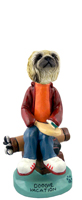 Pekingese Vacation Doogie Collectable Figurine