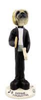 Pekingese Conductor Doogie Collectable Figurine