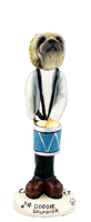 Pekingese Drummer Doogie Collectable Figurine