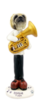 Pekingese Tuba Doogie Collectable Figurine