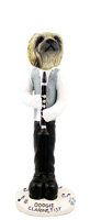 Pekingese Clarinetist Doogie Collectable Figurine