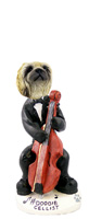 Pekingese Cellist Doogie Collectable Figurine