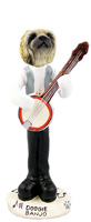Pekingese Banjo Doogie Collectable Figurine
