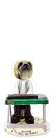 Pekingese Steel Guitarist Doogie Collectable Figurine